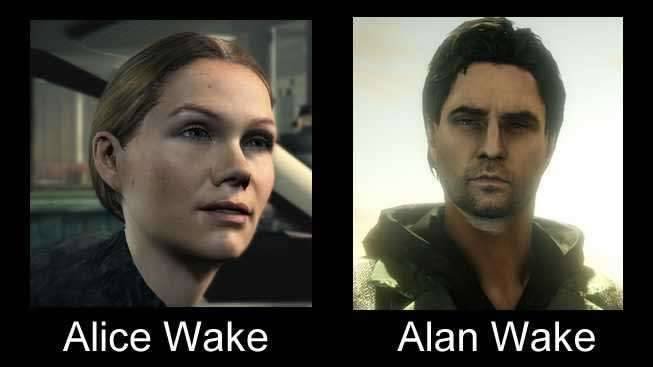 Alice e Alan Wake