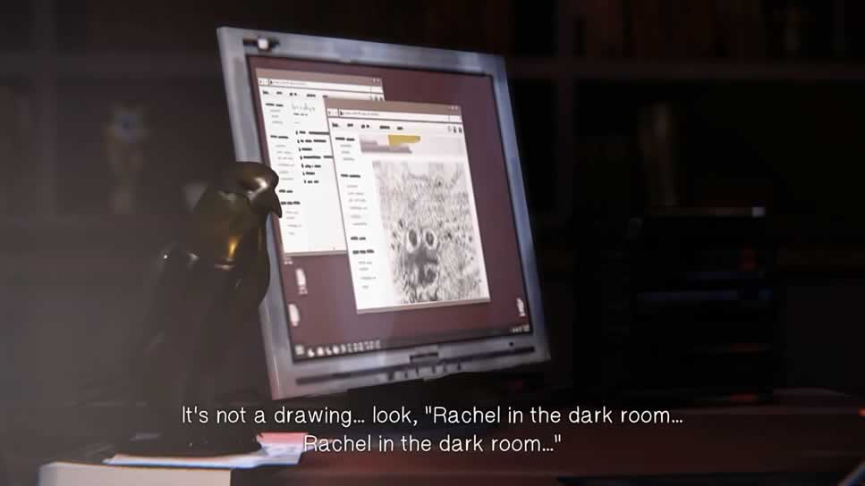 Rachel in the Dark Room Life is Strange