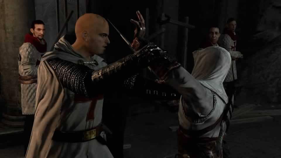 Robert de Sable atacando Altair