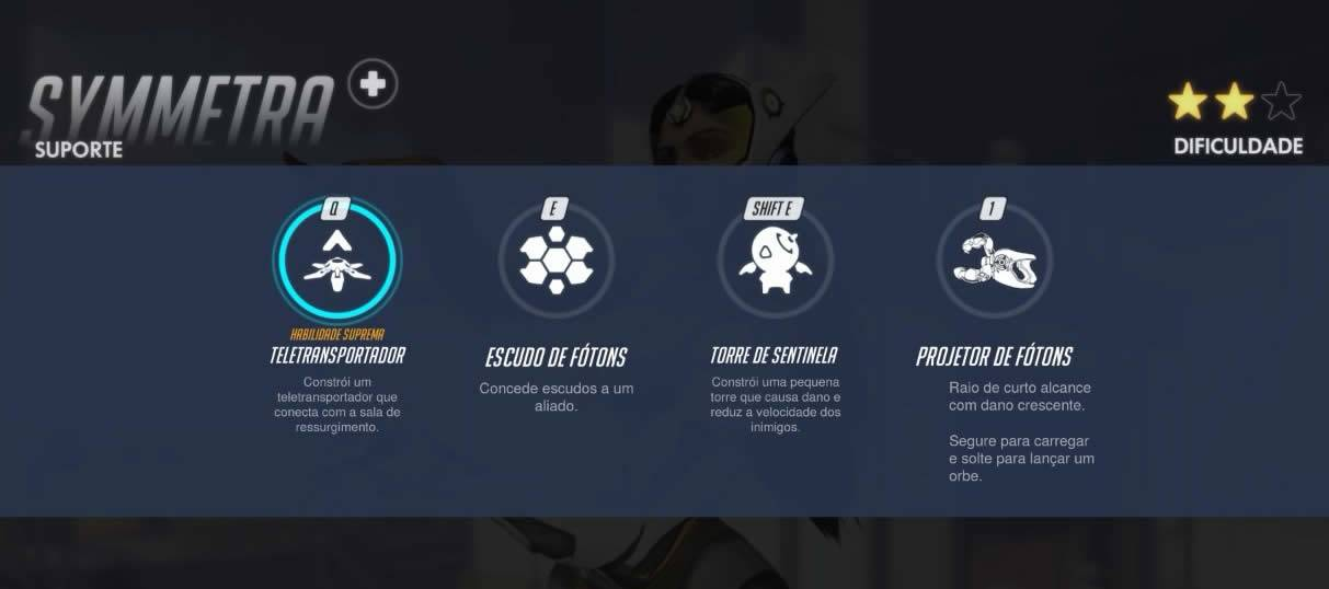 Todas as habilidades de Symmetra de Overwatch