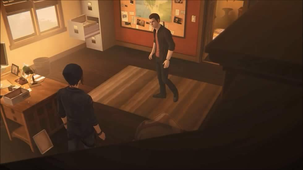 Eliot confronta Chloe em Life is Strange Before The Storm