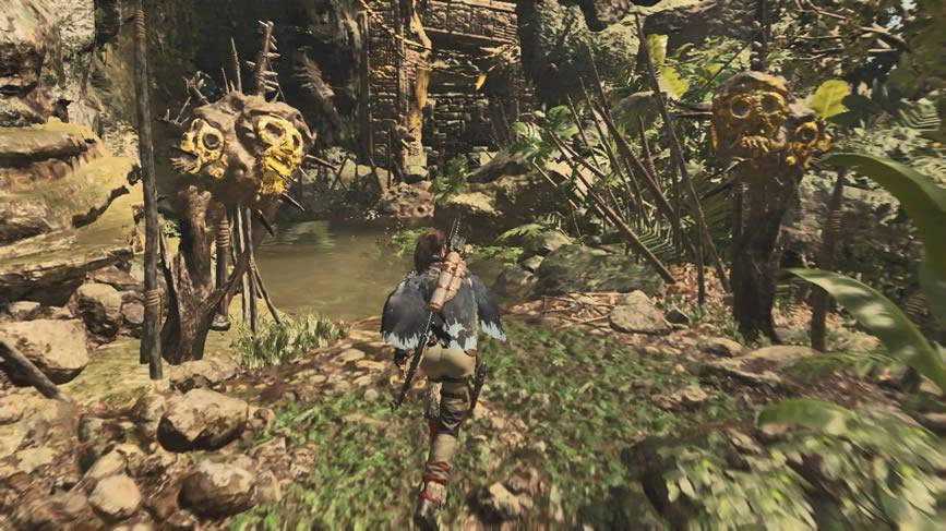 Tumba da selva peruviana Shadow of the Tomb Raider