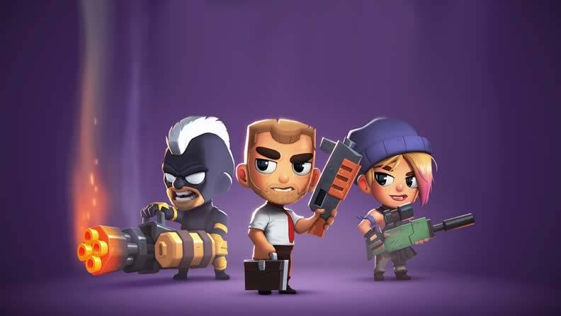 Jogo tipo Free Fire - Battlelands Royale
