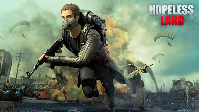 Jogo tipo Free Fire - Hopeless Land