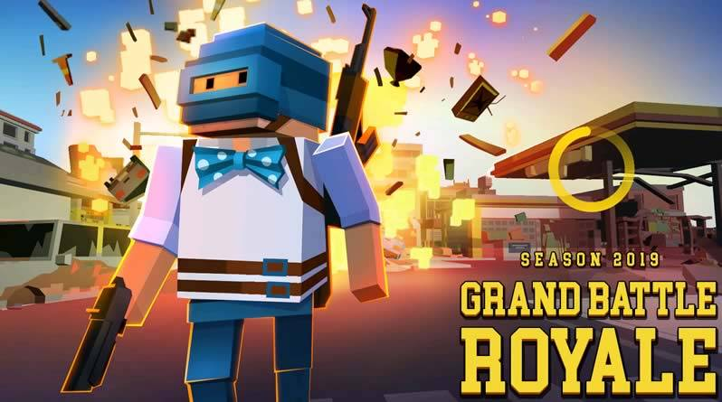 jogos parecidos com free fire - Grand Battle Royale
