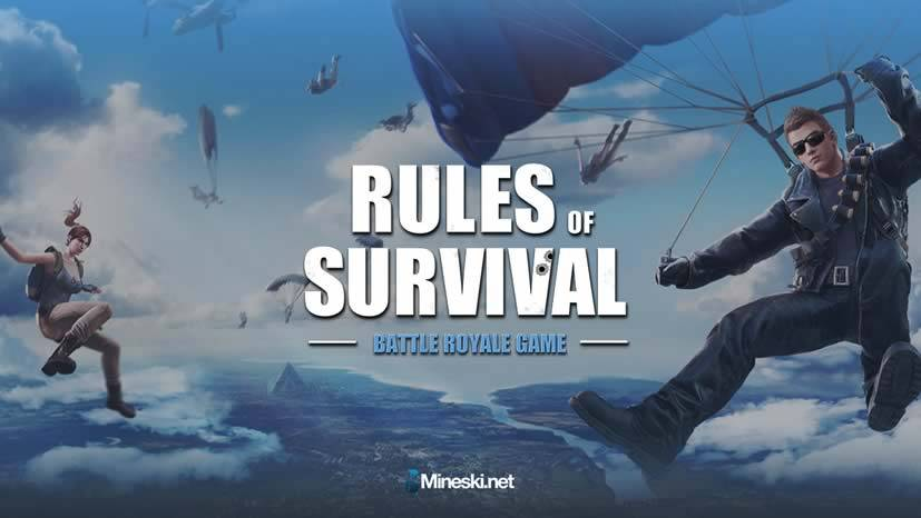 jogos parecidos com free fire - Rules of Survival