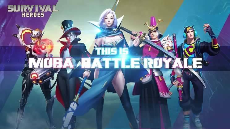 jogos parecidos com free fire - Survival Heroes MOBA Battle Royale